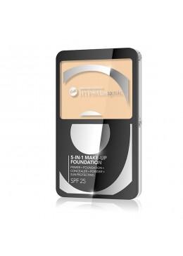 HYPO Base de maquillaje SPF25 hipoalergénica Cream Matte 5 en 1 - Color : 01.NATURAL - Bell HYPO