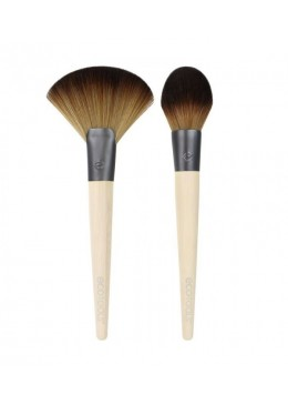 Define And Highlight Duo - Brochas para definir e iluminar el rostro ECOTOOLS