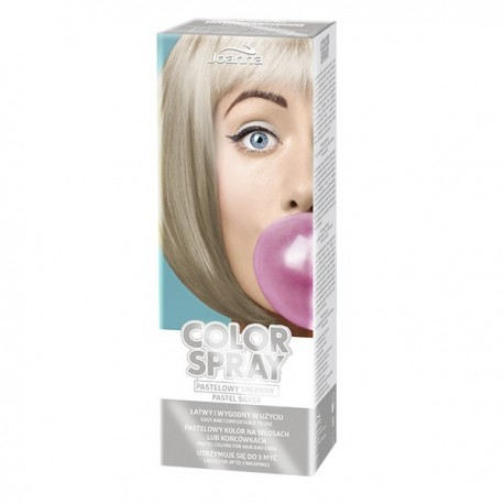Spray de color Plateado Pastel 150 ml