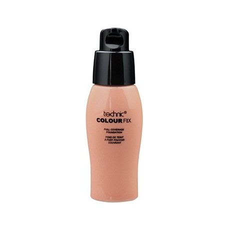 Technic Colour Fix Total Coverage Concealing Foundation Sand