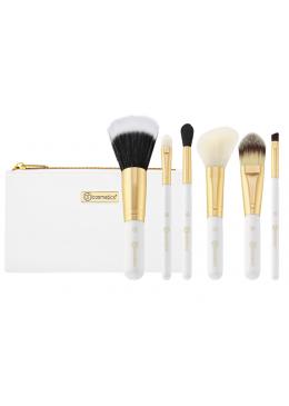 Bright White 6 Piece Brush Set - BH Cosmetics