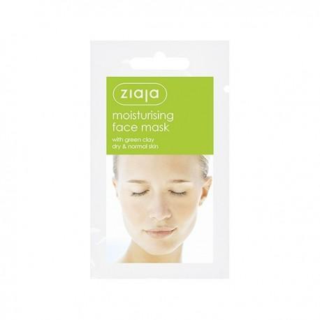 MASCARILLA FACIAL Hidratante con Arcilla Verde