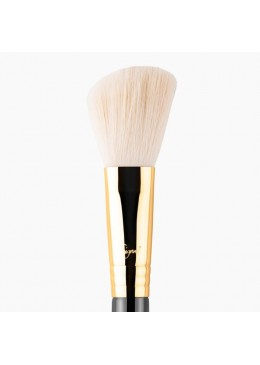 F40 - Large Angled Contour Brush - Black/Gold