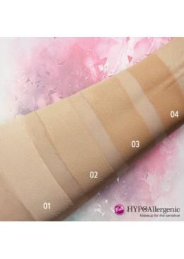 HYPO Base de maquillaje hipoalergénica Nude Liquid Powder : 02