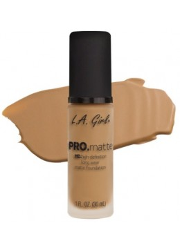 LA GIRL PRO MATTE FOUNDATION : MEDIUM BEIGE