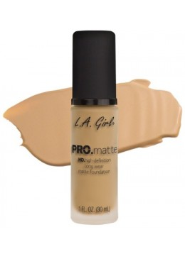 LA GIRL PRO MATTE FOUNDATION : BEIGE