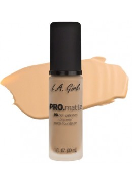 LA GIRL PRO MATTE FOUNDATION : BISQUE