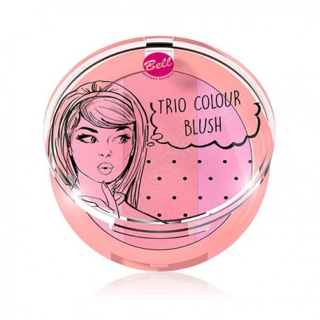 Trío de coloretes Colour Blush: 02