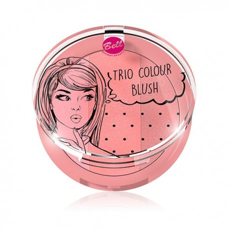 Trío de coloretes Colour Blush: 01