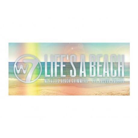 Paleta de sombras Life's a Beach W7