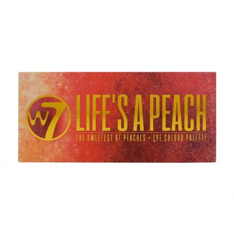 Paleta de sombras Life's a Peach W7