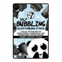 MASCARILLA DE PAPEL DE CARBON SELF BUBBLING W7