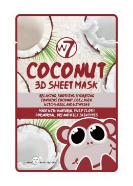 MASCARILLA DE PAPEL 3D COCO W7