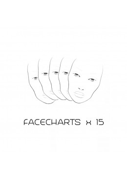 FACE CHARTS (15 Pack)