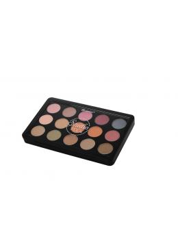 BH Studio Pro Dual Effect Wet/Dry Palette - Paleta de sombras