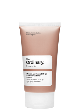 Mineral UV Filters SPF30 with Antioxidants - 50ml
