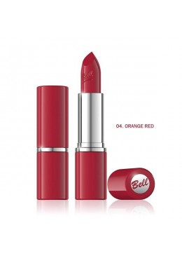 Barra de labios Colour Lipstick - 04 - Orange Red