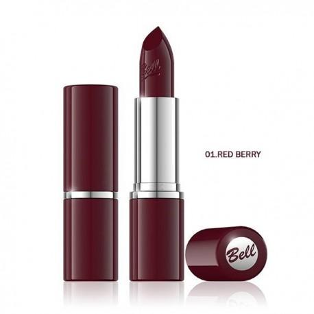 Barra de labios Colour Lipstick - 01 - Red Berry