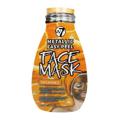 Mascarilla facial metálica Vitamina C W7