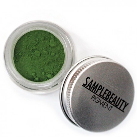 SHADE 5B (MATTE GREEN) - MATTE LOOSE EYESHADOW PIGMENT - Sample Beauty