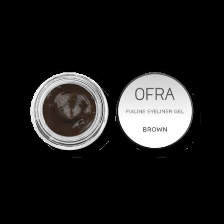 FixLine - Eyeliner Gel - OFRA - Brown