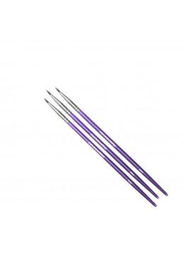 P373 Extreme Eyeliner Brush (3pcs)