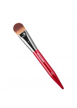 P340 Rounded Foundation Brush Red - Cozzette