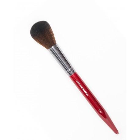 S130 Rounded Blush Brush Red - Cozzette