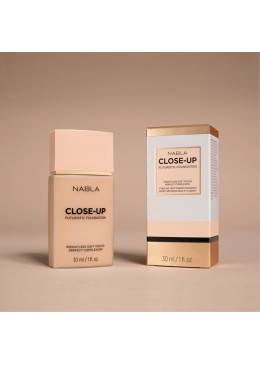 Close-Up Futuristic Foundation M10 - Nabla
