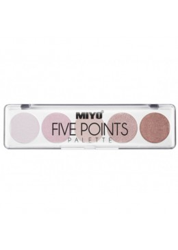PALETA DE SOMBRAS FIVE POINTS MIYO 08 VERY ME