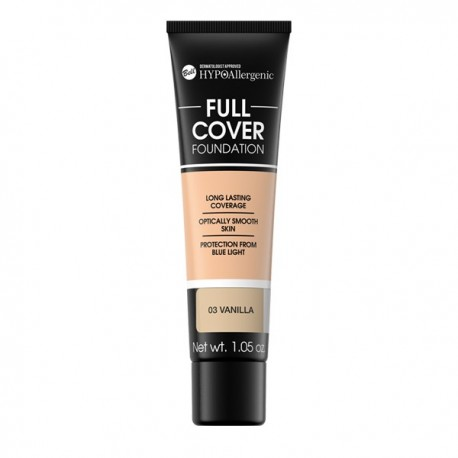 HYPO Base de maquillaje hipoalergénica Full Cover: 03 VAINILLA
