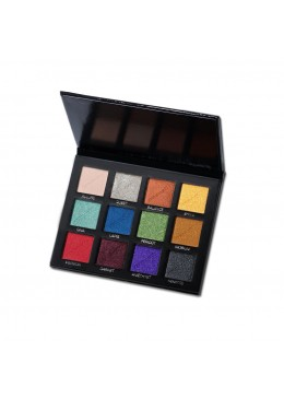 The Padded Eyeshadow Palette, 12 Metallic - Cozzette
