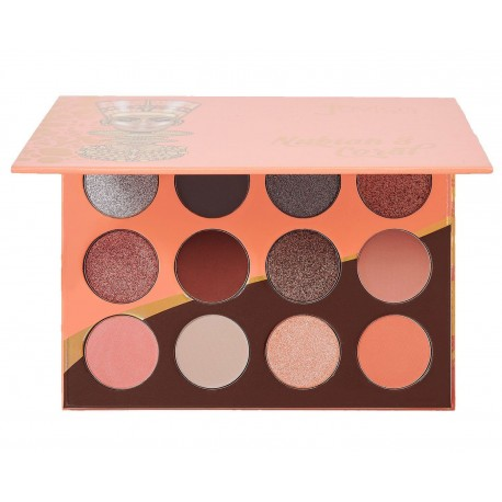 JUVIAS PLACE - NUBIAN 3 CORAL EYESHADOW PALETTE