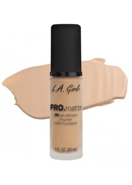 LA GIRL PRO MATTE FOUNDATION : NUDE