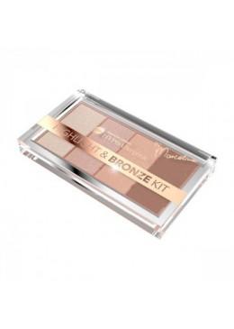 HYPO Paleta de iluminadores y bronceador hipoalergénica Highlight&Bronze - Bell HYPO