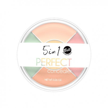 Corrector 5 en 1 Perfect Concealer - Bell
