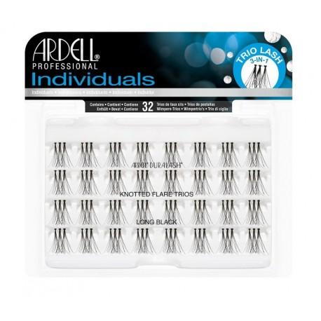 Individuals Black Long - Pestañas en trios con nudo - Ardell