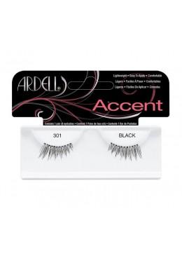301 Black - Pestañas 3/4 - Ardell