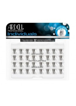 Individuals Black Medium - Pestañas en trios con nudo - Ardell