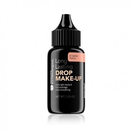 Base de maquillaje duradera hipoalergénica Drop Make Up: 07 Warm Peach - Bell Hypo