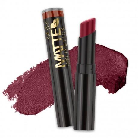 Matte Flat Velvet Lipstick - Runway - L.A. Girl