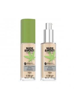 Base de maquillaje hipoalergénica Nude&Moist: 04 - Bell Hypo