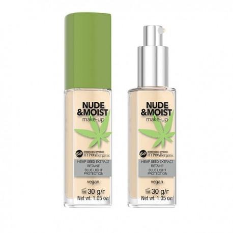 Base de maquillaje hipoalergénica Nude&Moist: 03 - Bell Hypo