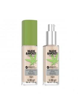Base de maquillaje hipoalergénica Nude&Moist: 02 - Bell Hypo