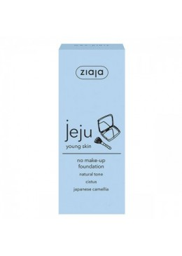 JEJU Base de maquillaje 'No Make up' tono Natural - ZIAJA