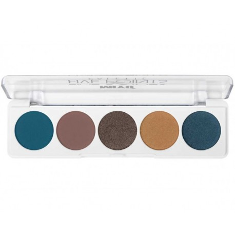 Paleta de sombras Five Points Miyo 25 Fabulous
