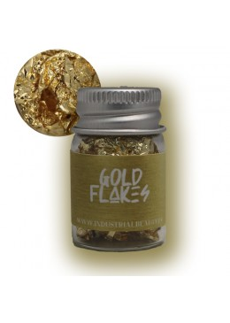 IB GLITTER - GOLD FLAKES 6ML