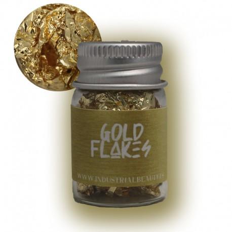 IB GLITTER - GOLD FLAKES 6ML