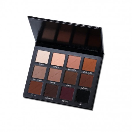 The Padded Eyeshadow Palette, 12 Mattes - Cozzette