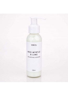 BOG MYRTLE AND LIME BALANCING CLEANSER - 100ml - West Barn Co